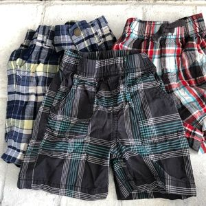 Lot of 3 Pairs of Baby Boy Shorts